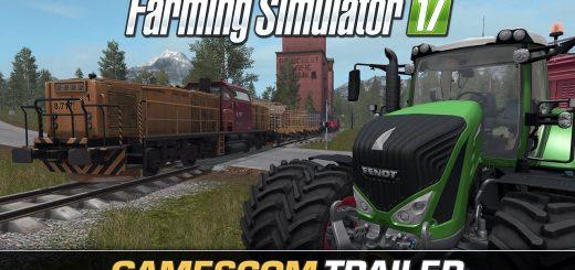 FS 17 gamescom gameplay