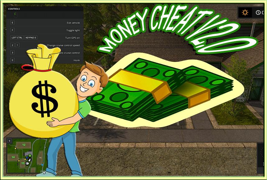 Farming simulator 2017 money cheat