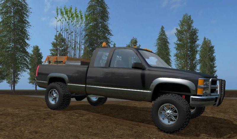 FS 17 CHEVROLET SILVERADO 2500 V1.1 | Farming simulator ...