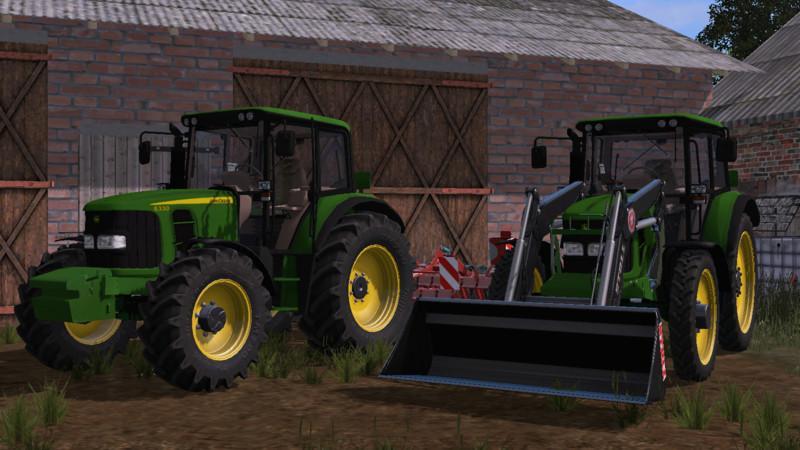 Farming simulator 17 MOD John Deere 6330 comfort B1 0 FOR FARMING