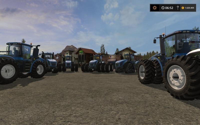 Farming simulator 17 New Holland T9 v2 0 | Farming simulator