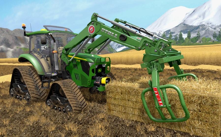 Farming simulator 2017 MOD TRACTOR JOHN DEERE 5M SERIES V 2 5 FINAL