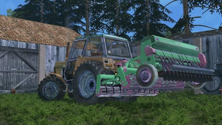 Farming simulator 2017 Combine seed drill (FS15) v1 0