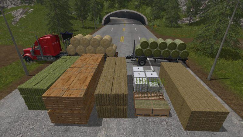 FS 17 FLEIGL FLATBED SHORT V1 - Farming simulator 2015 mods