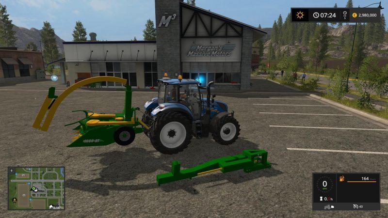Farming simulator 2017 FORAGE JF1600 V1 0 | Farming