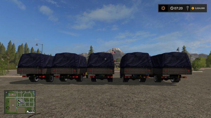 Farming simulator 17 GAZ 3302 V1 0 | Farming simulator 2017 mods