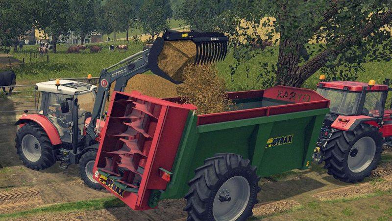 Farming simulator 17 Gyrax EBMX 155 v1 0 | Farming simulator