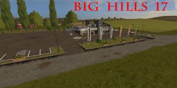 Farming simulator 2017 Hills Map 17 v1 Farming simulator 2017 mods