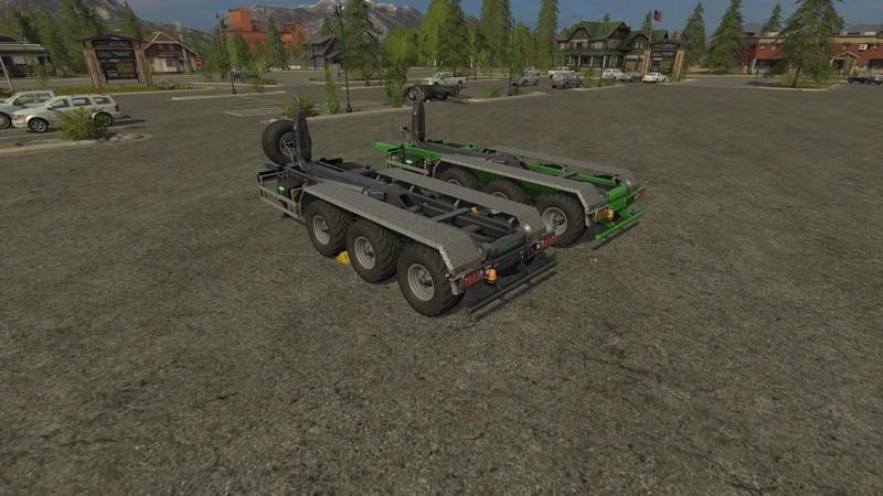 Farming simulator 17 ITRunner 2633 Trailer High Hitch Model v1 1