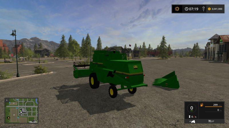 Farming simulator 2017 JD PACK SLC 7500 TURBO V1 0 | Farming