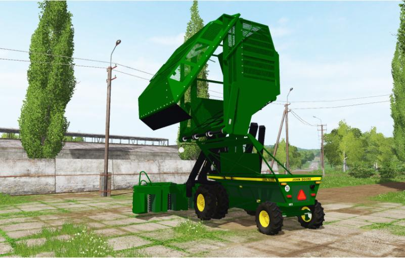 Farming simulator 2017 JOHN DEERE 9950 V1 0 | Farming simulator 2017