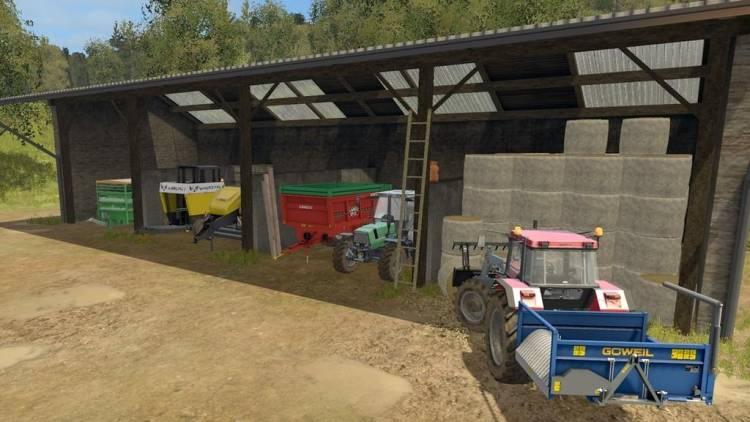 Farming simulator 17 Old Storage shed v1 0 | Farming
