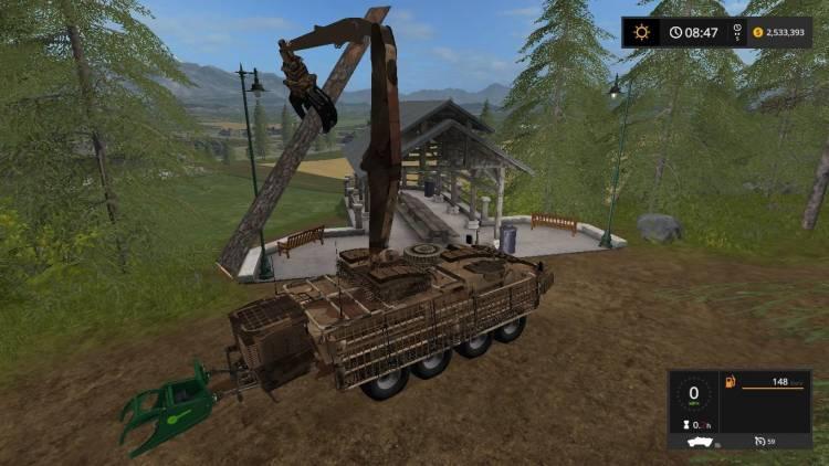 FS 17 Stryker 133AT/2x beta | Farming simulator 2017 mods