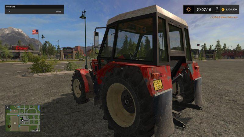 Farming simulator 17 ZETOR 7045 HS V1 0   Farming simulator 2017 mods